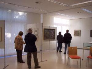 mehr als 400 Kunstinteressierte kamen in die Ausstellung