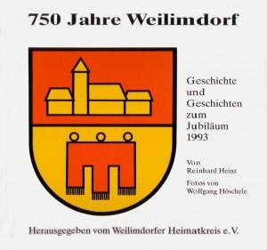 """Cover des Buches """"750 Jahre Weilimdorf"""""""