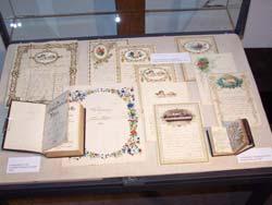 Dotebriefe und Gebetbücher von 1815
