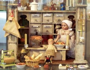 Ein Kaufladen aus dem Jahr 1920 (von Familie Hoche)