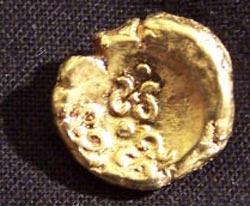 """Münze """"Keltisches Regenbogenschüsselchen, um 400 v.Chr., Kopie"""""""