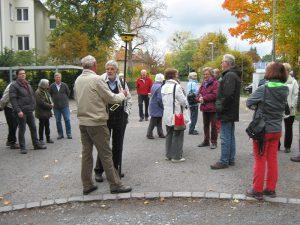"""""""Markungsumgang"""" am 22. Oktober 2016 in Weilimdorf mit dem Heimatkreis"""